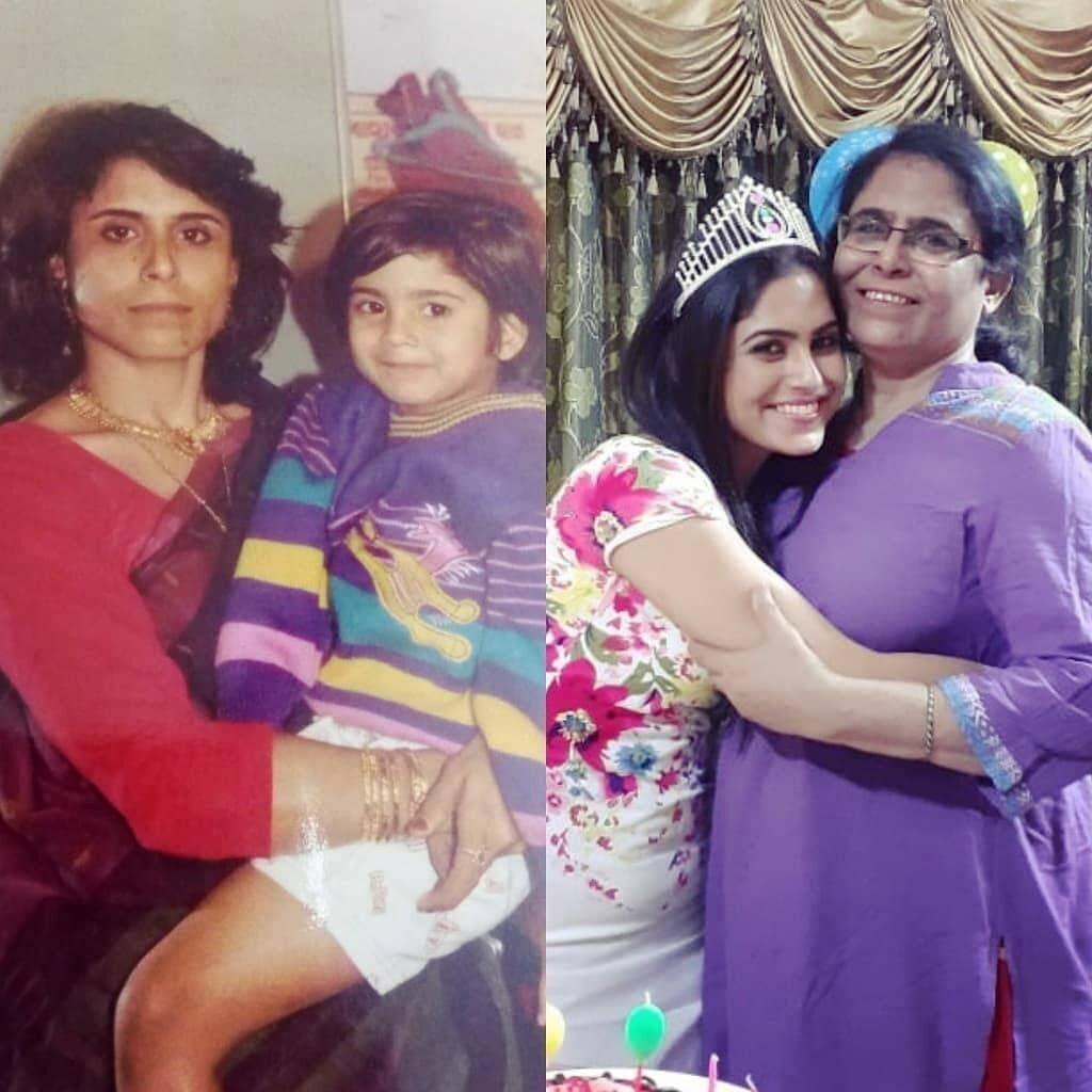 Naina Ganguly mother