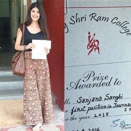 Sanjana Sanghi Education