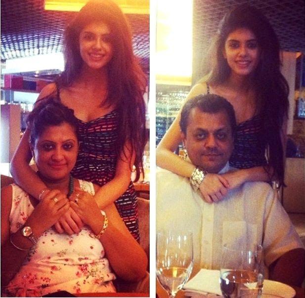 Sanjana Sanghi Parents