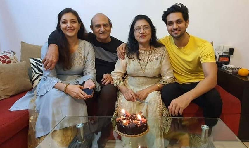 Shaktii Arora Family