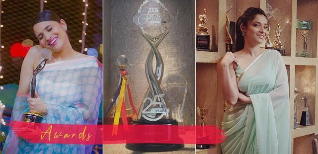Ankita Lokhande awards and achievements
