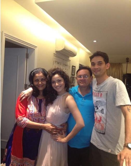 Ankita Lokhande Family and parents