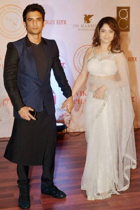 Ankita Lokhande and Sushant Singh Rajpit
