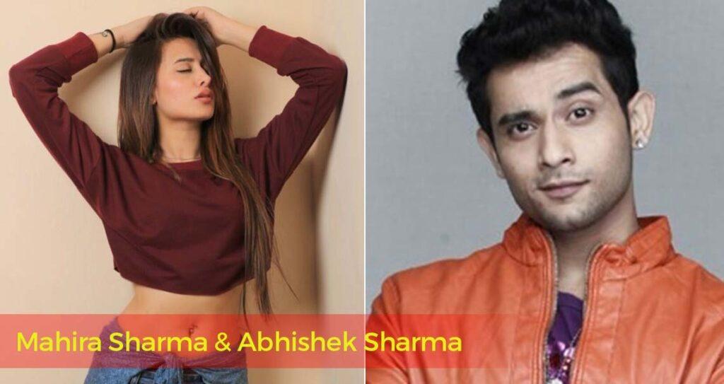 Mahira Sharma And Abhishek Sharma