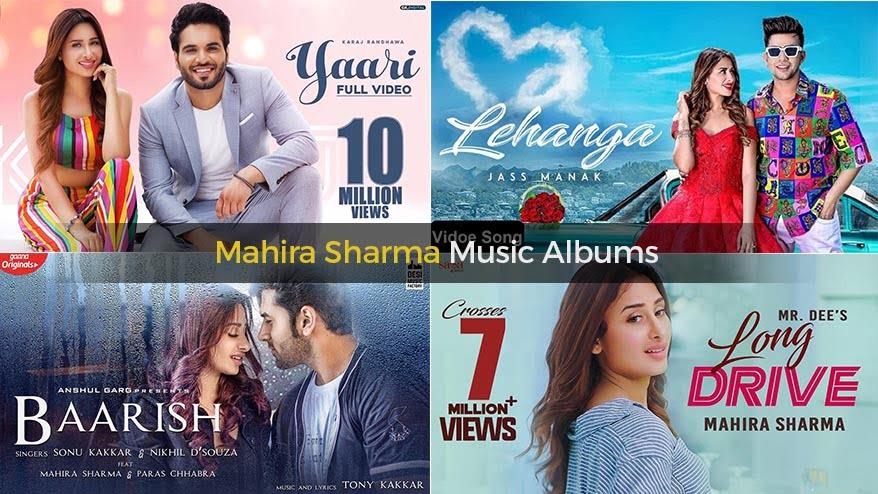 Mahira Sharma Music Albums