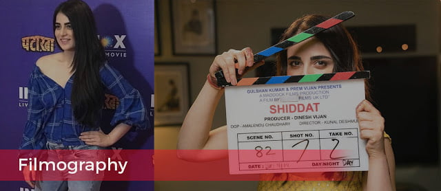 Filmography of Radhika Madan