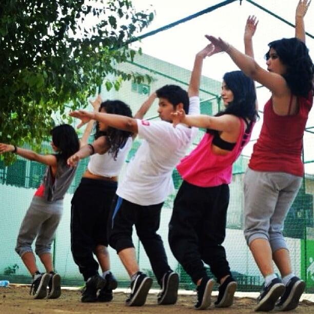 Radhika Madan as a dance teacher