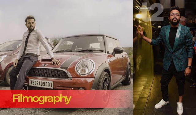 Sourav das Filmography or Film Career
