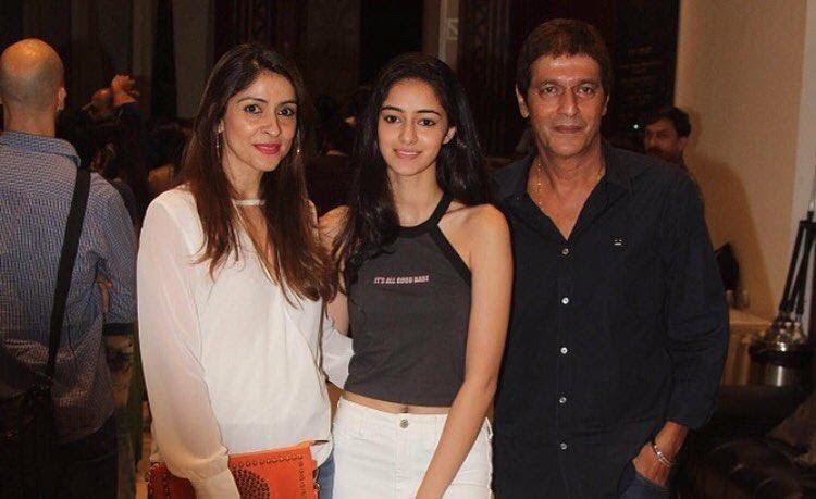 Ananya Pandye Family and parents