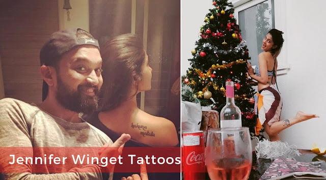 jennifer winget tattoos