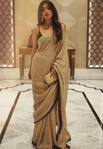 actress Anindita Bose in Sharee