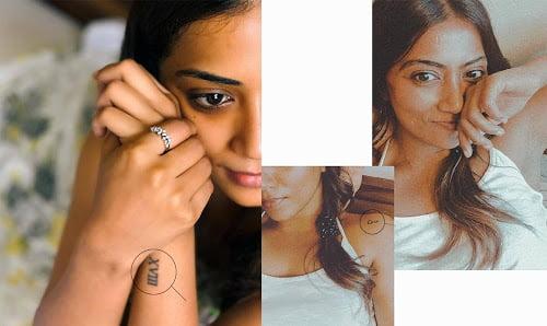 actress Anindita Bose tattooes