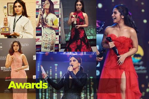 Bhumi Pedneker awards and achevements