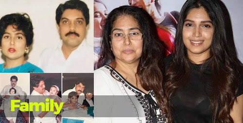Bhumi Pedneker family & parents