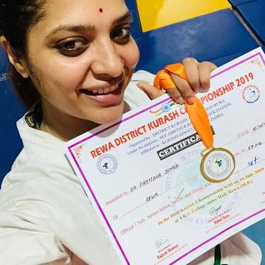 Pratibha Singh Jiu Jitsu World Championship certificate