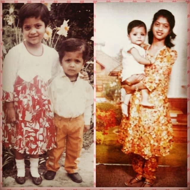 Pratibha Singh in her childhood days