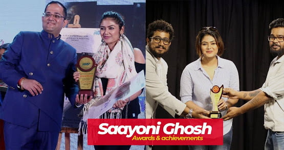 Saayoni Ghosh awards and achievements