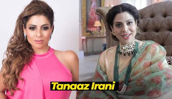 Tanaaz Irani in Apna Time Bhi Aayega Serial