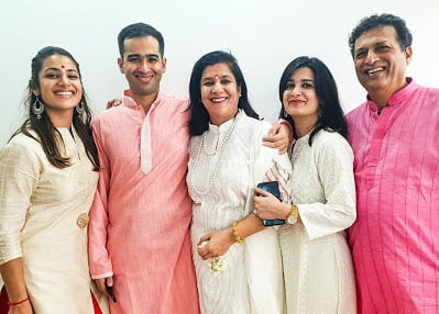 arushi chawla family and parents