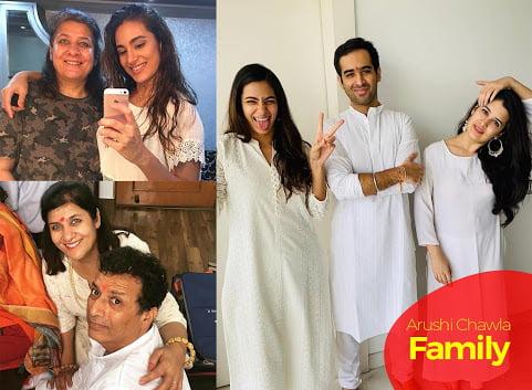 arushi chawla family members