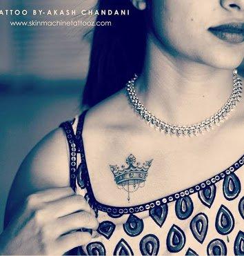 roadies contestant Pratibha Singh tattooe