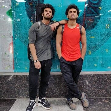 akash verma and his brother