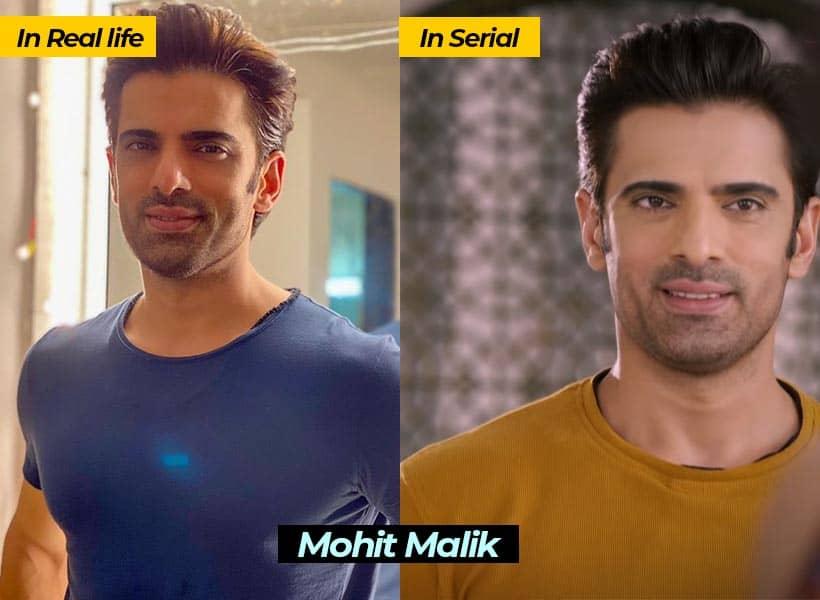 Mohit Malik in lockdown ki love story serial actor