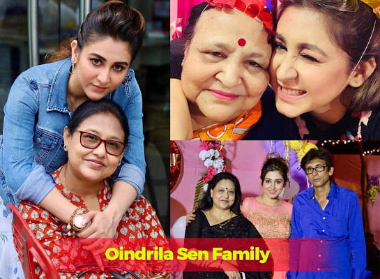 Oindrila Sen family members and parents