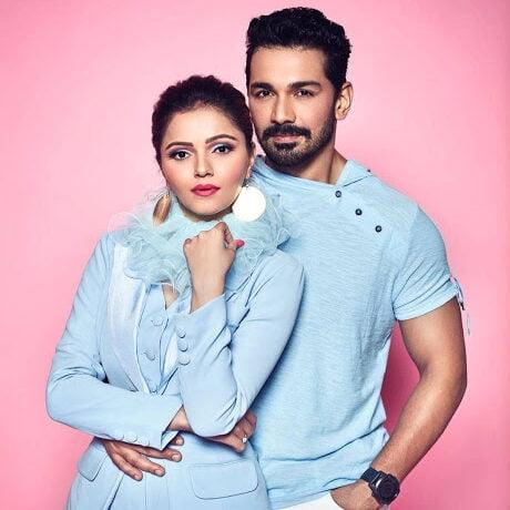 Rubina Dilaik and her husband Abhinav Shukla