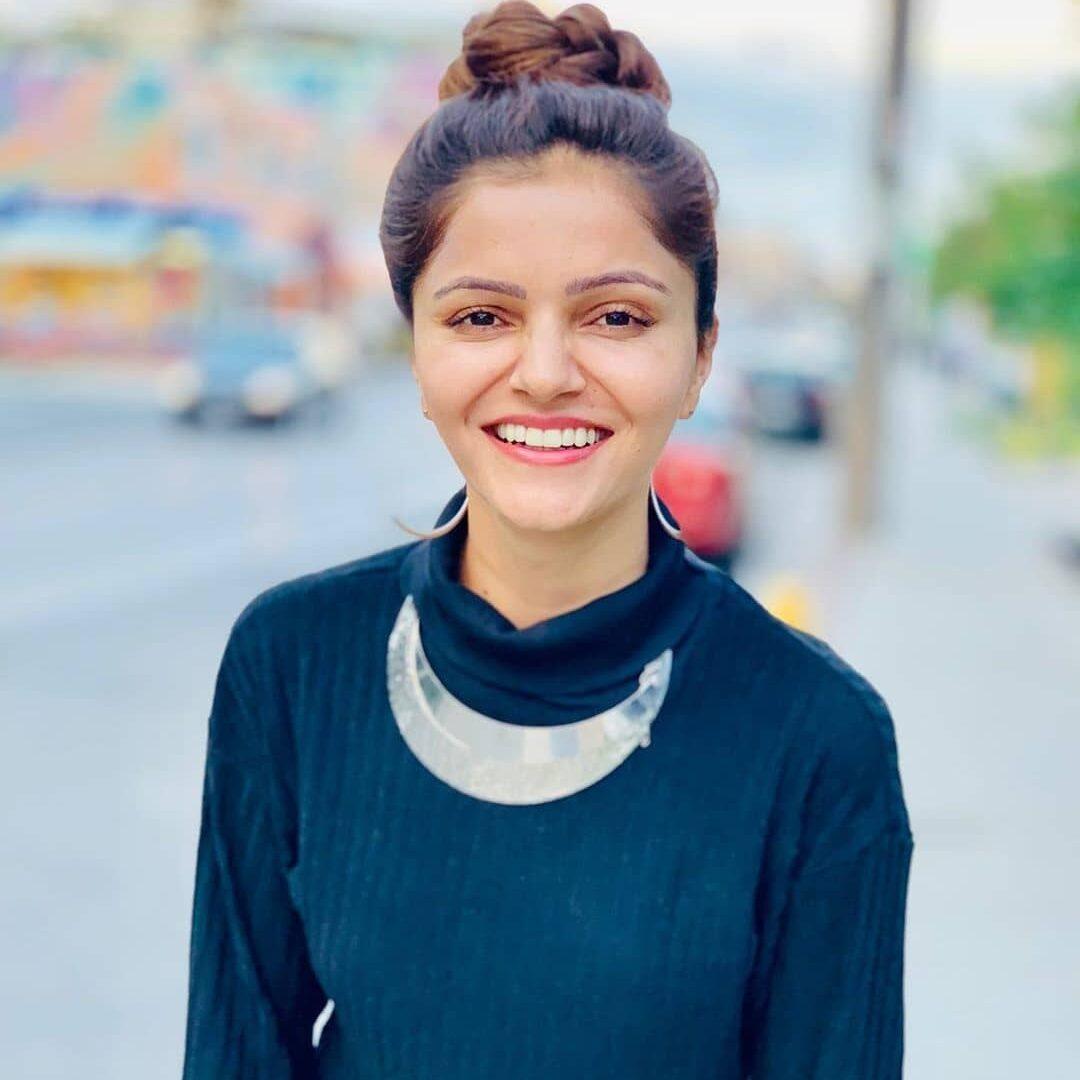 television actress Rubina Dilaik