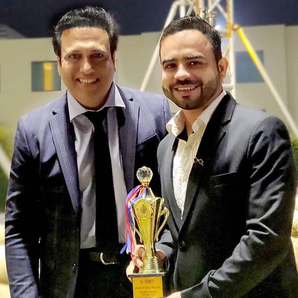 Gaurav Wasan awards for best food explorer