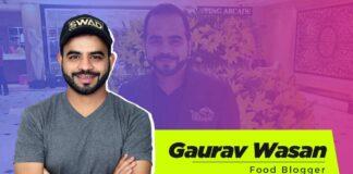 Gaurav Wasan food blogger biography wiki age height