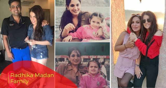 Radhika Madan family