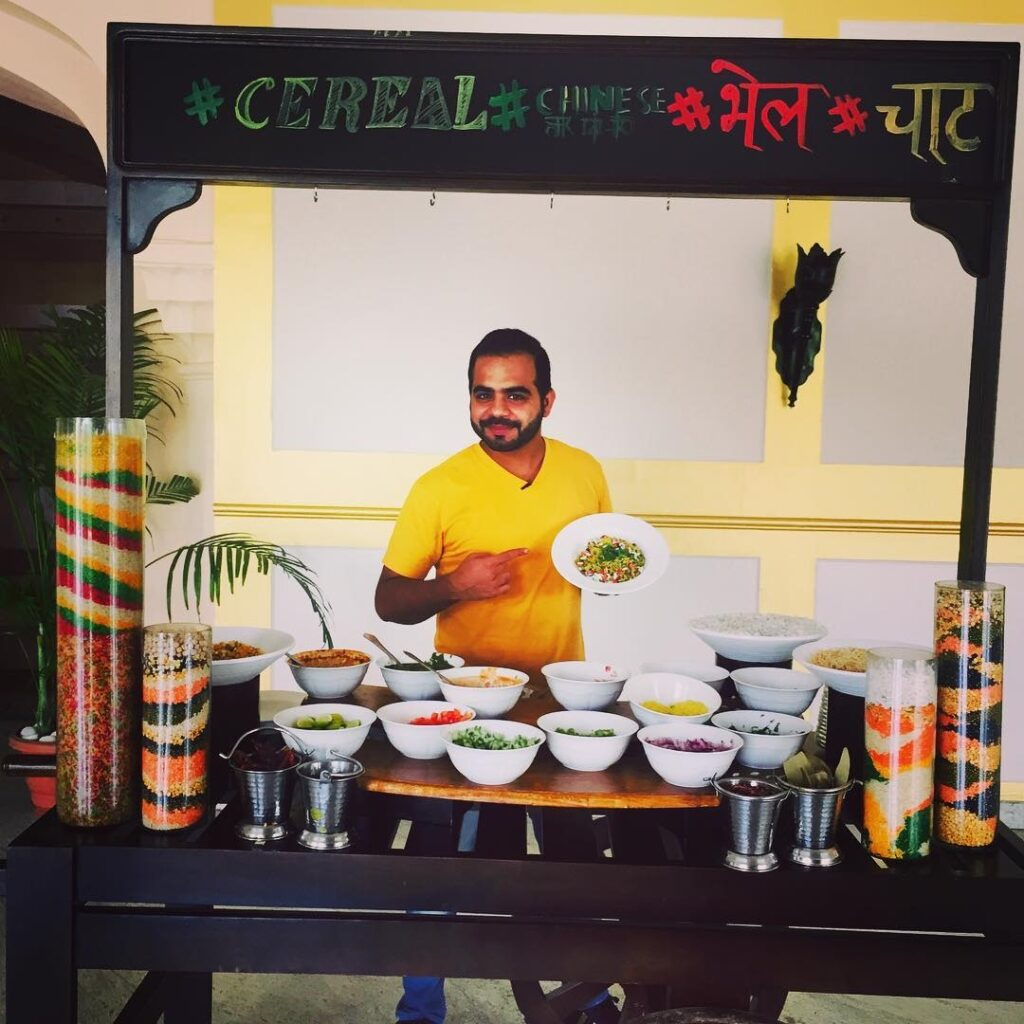 food blogger Gaurav Wasan