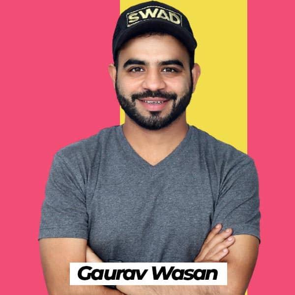 food blogger Gaurav Wasan Biography wiki