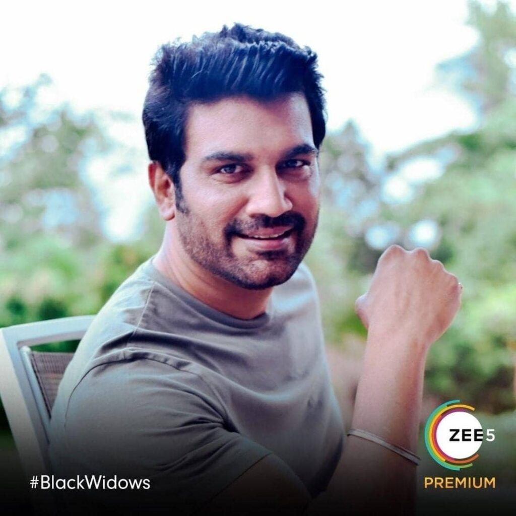Black Widow web series actor Sharad Kelkar