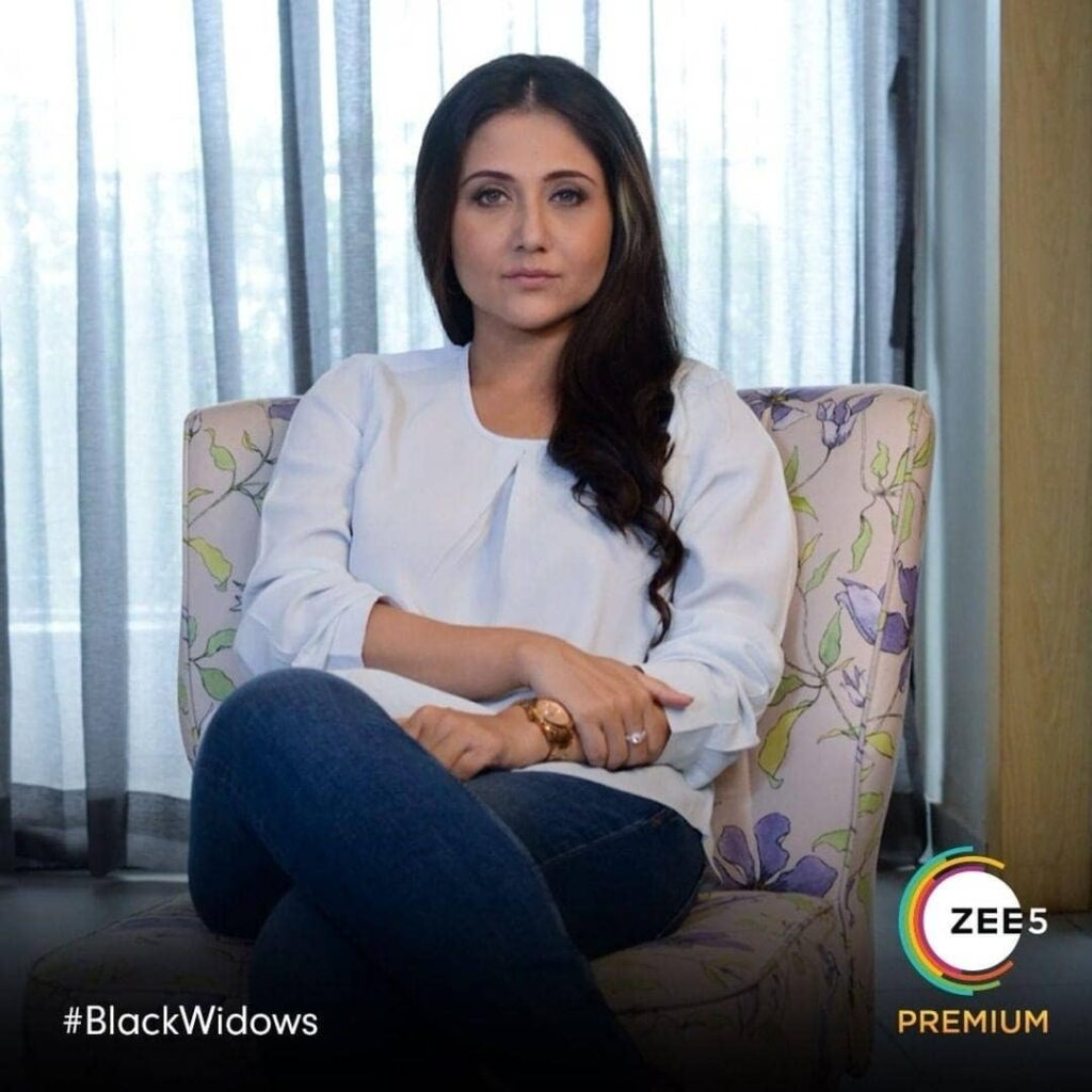 Black Widow web series actress Swastika Mukherjee