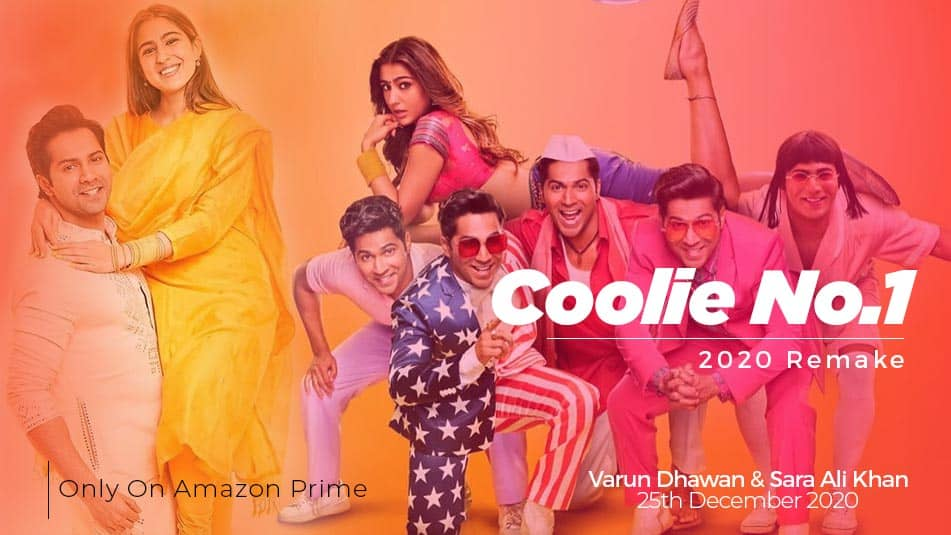 Coolie No1 2020 movies cast, actress, star cast, Release Date