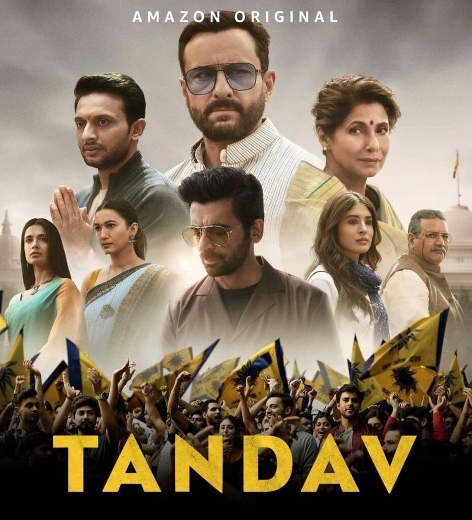 Tandav Web Series actors story cast real name