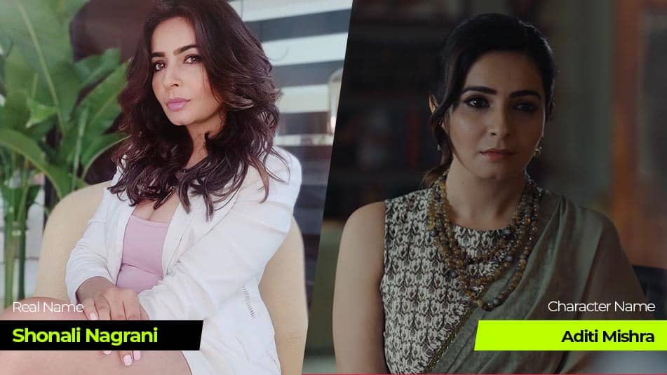Tandav Web Series actress Shonali Nagrani
