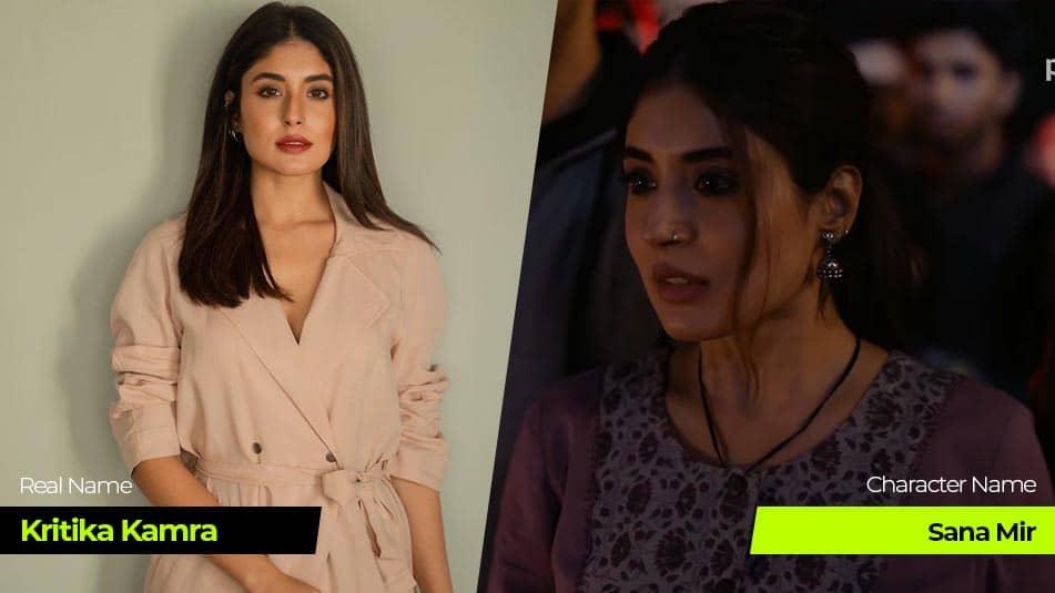 Tandav Web Series actress Kritika Kamra