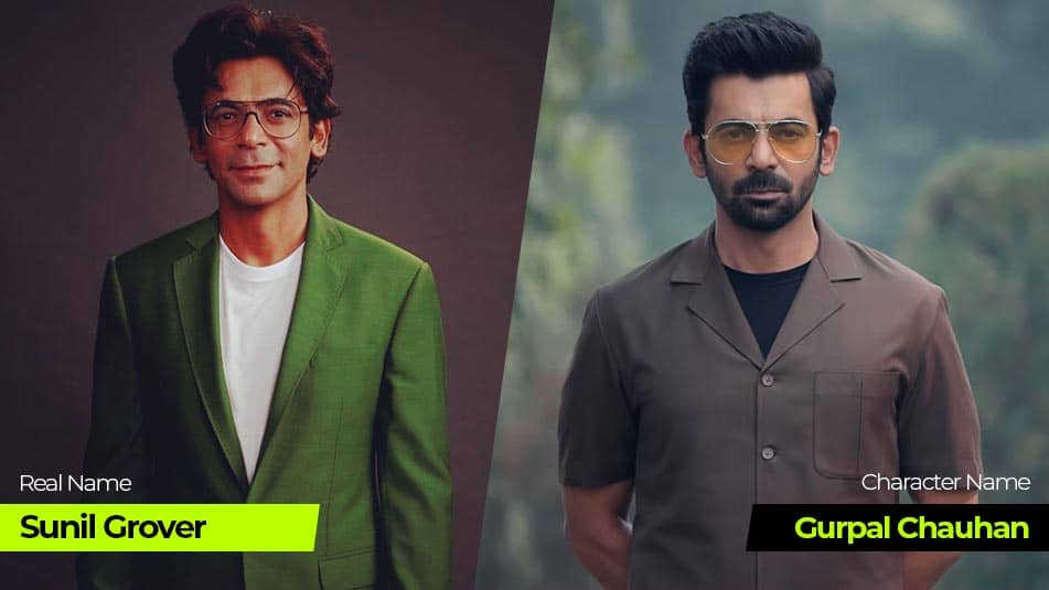 Tandav Web Series cast Sunil Grover